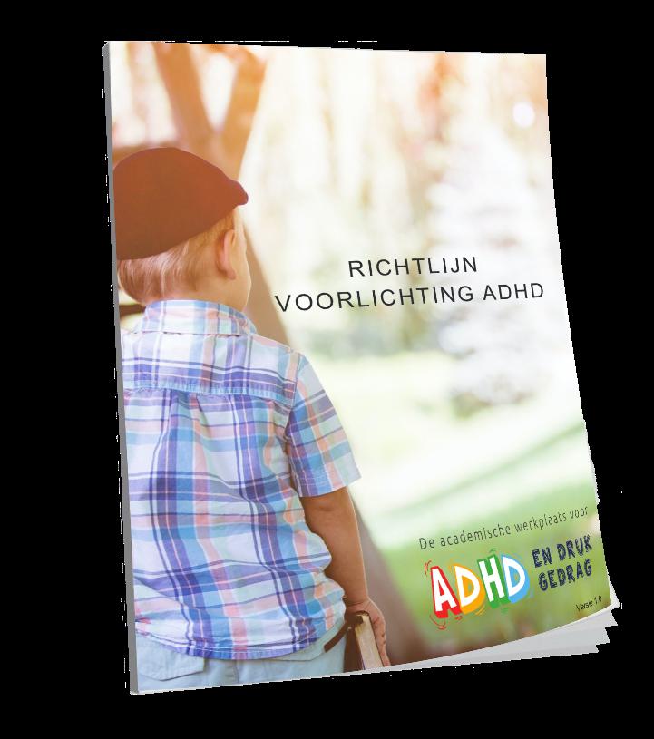 Richtlijn Voorlichting ADHD gelanceerd
